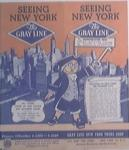 1949 The Gray Line Seeing New York Travel Guide